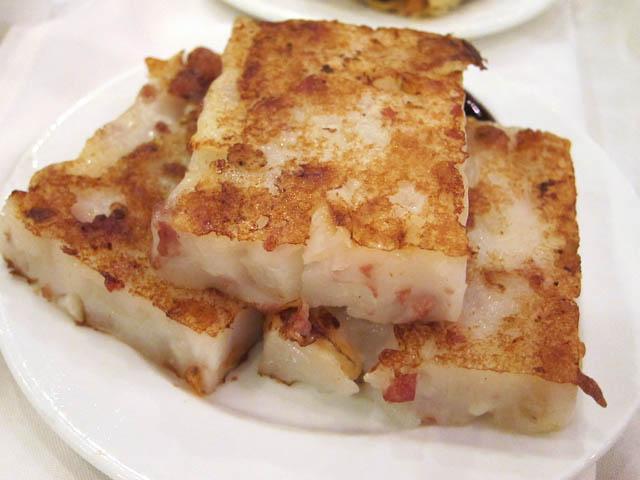 Fried Radish Cakes