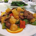 14 Beef with Pineapples Peppers Cantoon Garden 150x150 Carolyns b day dinner @ South China Garden (aka Cantoon Garden)