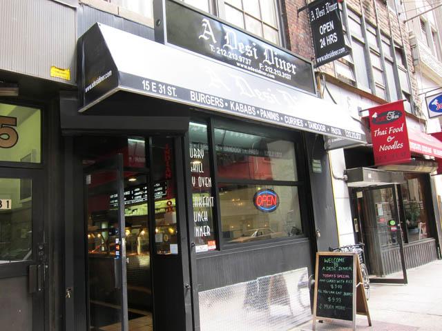 01 A Desi Diner - NYC