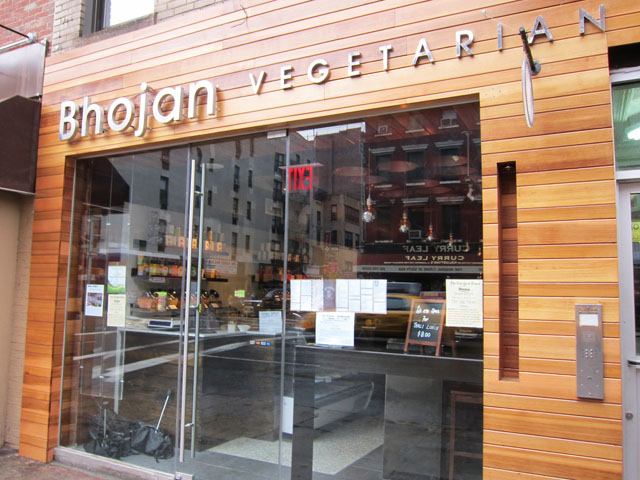 01 Bhojan Vegetarian Indian Restaurant