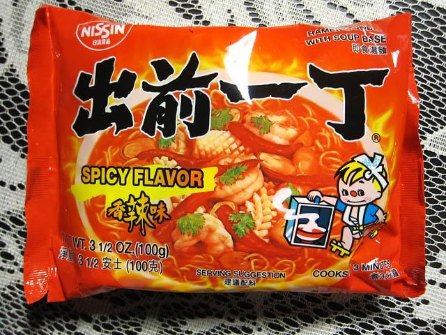 01 Nissin Spicy Flavor Ramen