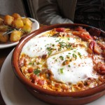 02 Baked eggs over Ratatouille - Fanny
