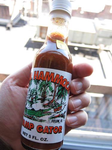 02 Gator Hammock Swamp Gator hot sauce