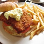 03 Fried fish Sandwich - Fanny