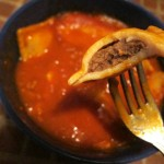 08 Super A Beef Ravioli inside bite 150x150 Super A Beef Ravioli in Meat Sauce