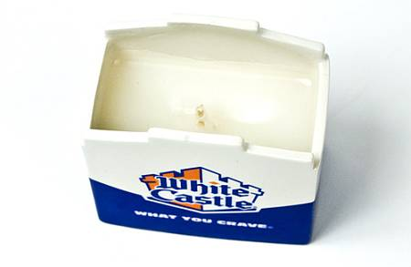 White Castle scented candle
