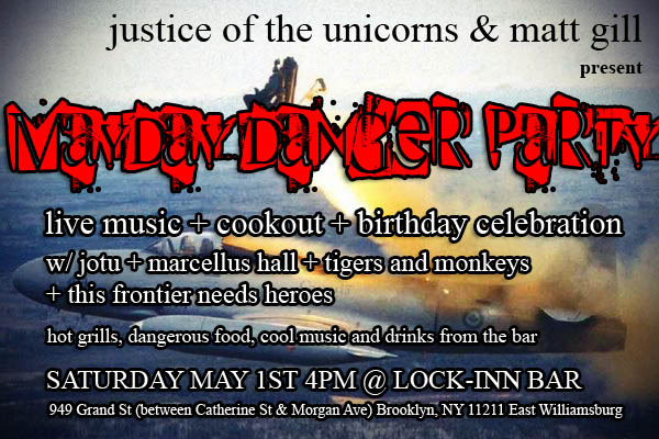 mayday party 3 MayDay Danger Party Saturday May 1st 2010
