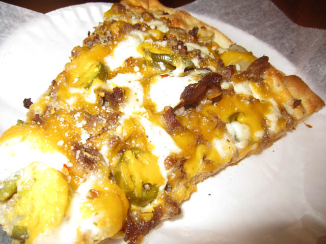 01 Carmines Philly Cheesesteak Pizza Best Things I Ate in 2010