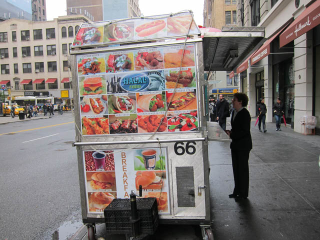 01 Halal cart 23rd St btwn Park & Lex