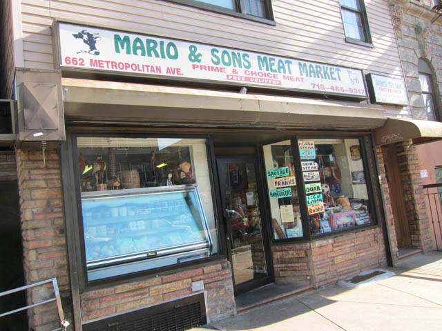 01 Mario & Sons Meat Market