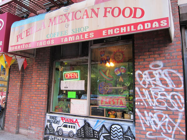 01 Puebla Mexican Food & Coffee Shop - NYC