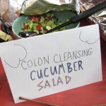 15 Christas Colon Cleansing Cucumber Salad 150x150 MayDay Danger Party