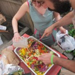18 mixing the Asian Slaw 150x150 MayDay Danger Party