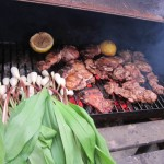 25 Loren grilling Citrus Chicken and Ramps 150x150 MayDay Danger Party