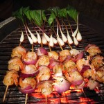 38 Grilling Ramps and Shrimp Skewers 150x150 MayDay Danger Party