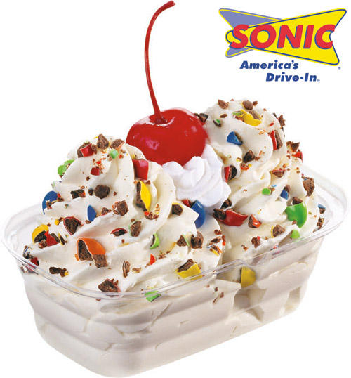 SONICRealIceCreamJrCandySundae Ice Cream Social Contest Ending Soon