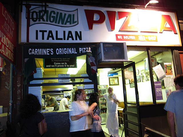 01 Carmine's Original Pizza - Greenpoint