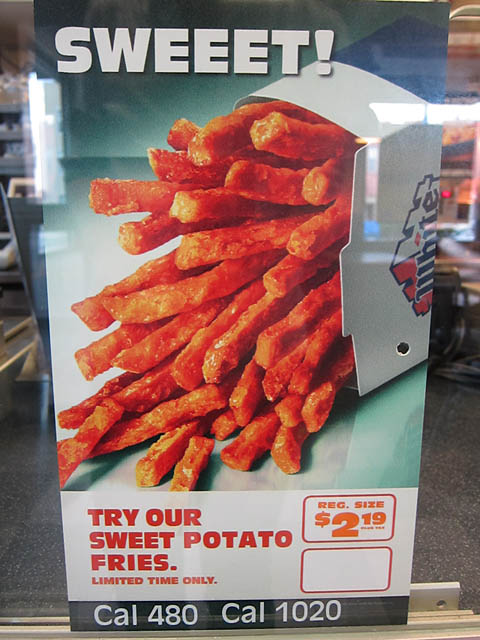 01 Sweet Potato Fries - White Castle