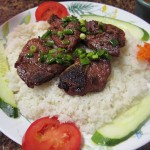 07 Chargrilled Pork Chops over Rice - Pho Tau Bay