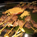 11 Beef Skewers with Peanut dusting 150x150 Senagalese Summer @ Le Grand Darkar