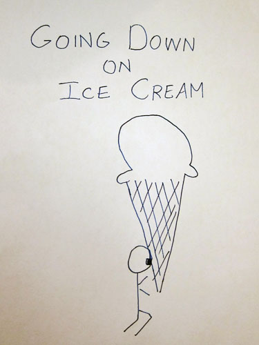 Going Down on Ice Cream Ice Cream Drawing Winners