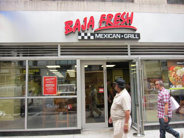 01 Baja Fresh - NYC