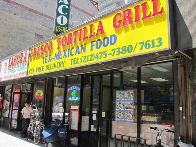 01 Fresco Tortilla Grill - Chinese Tex-Mex