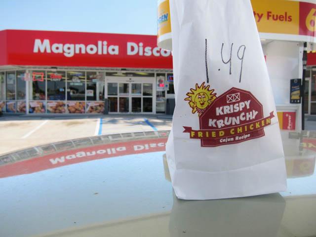 01 Krispy Krunchy Chicken at Magnolia Discount - New Orleans