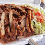 02 Grilled Chicken Combination Platter - Super Taco Express