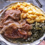 02 Smothered Chicken Mac n Cheese Collard Greens Soul Fixins 150x150 Soul Fixins