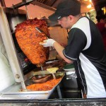 04 Slicing the Al Pastor Meat Taco Mix 150x150 Spanish Harlem Taco Adventure