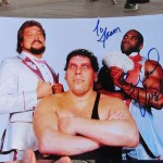 31 Autographed WWF Virgil photo