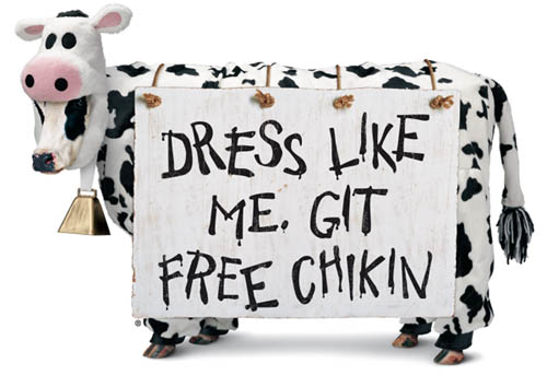 Cow Appreciation Day Free Chick fil A in NYC July 9th!