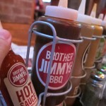 01 Brother Jimmys sauces 150x150 Brother Jimmys All You Can Eat Wings, Rib Tips & Beer