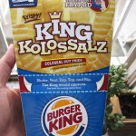01 Burger King King Kolossalz Fries 150x150 Burger King   King Kolossalz Fries
