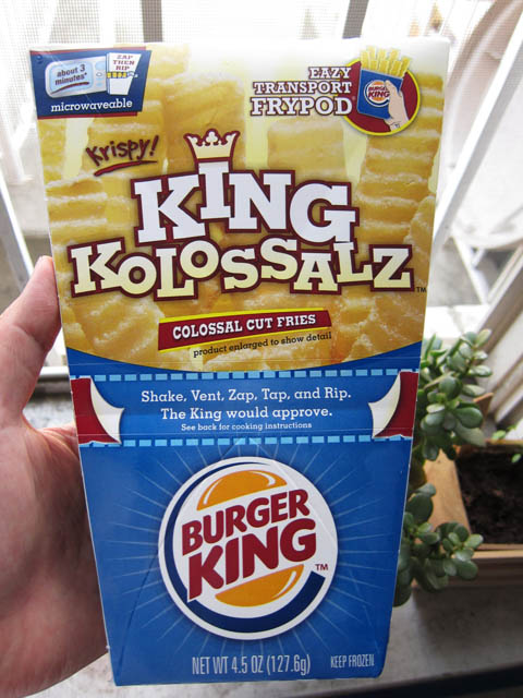 01 Burger King - King Kolossalz Fries