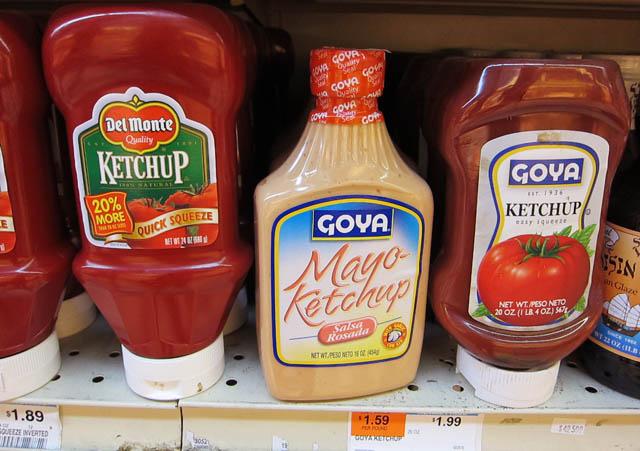 01 Goya Mayo-Ketchup bottle