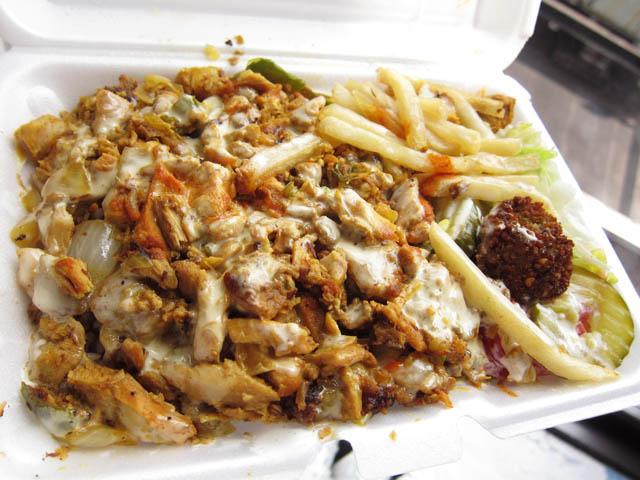 01 Lamb and Chicken Combo plate - LTZ Halal