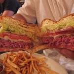 05 Rare Burger half cut Lillies 150x150 Lillies $10 Burger & Beer Lunch Special