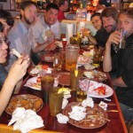 10 Bachelor Party at Hooters 150x150 Matts Bachelor Atlantic City Party