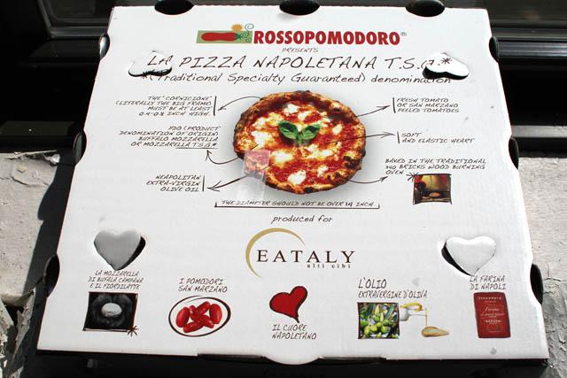01 Eataly Rossopomodoro Pizza Box