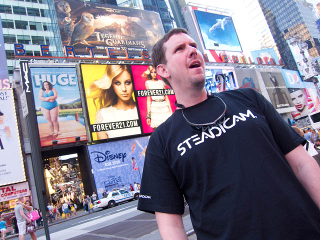 01 John Hatcher in Times Square