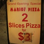 01 Marios Pizza NYC 150x150 Marios Pizza on Houston (NYC)