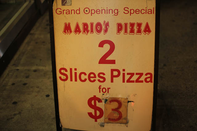 01 Mario's Pizza NYC