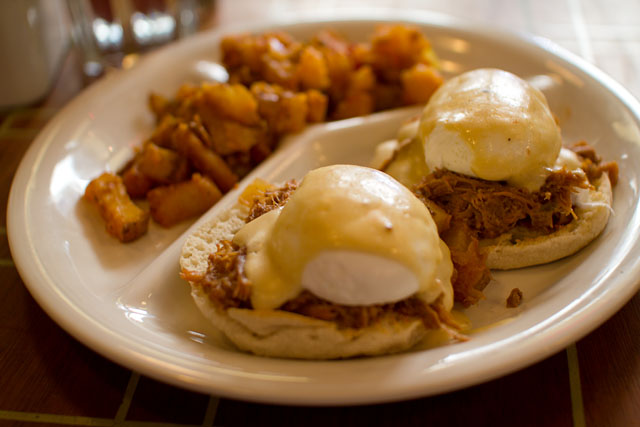 01 Pulled Pork Hash Benedict - Building on Bond