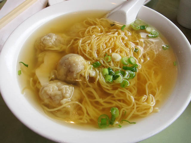 how to make wonton soup noodles
