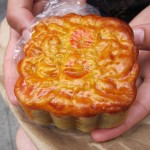 04 Lotus Paste Mooncake with Two Yolks Golden Fung Wong Bakery 150x150 Chinese Baked Goods Adventure