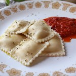 07 Savinos Cheese Ravioli and Marinara sauce 150x150 Savinos Quality Pasta   Cheese Raviolis