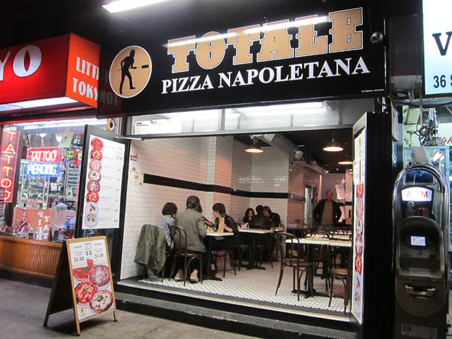 01 Totale Pizza Napoletana - East Village