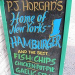 02 PJ Horgan's hamburger sign